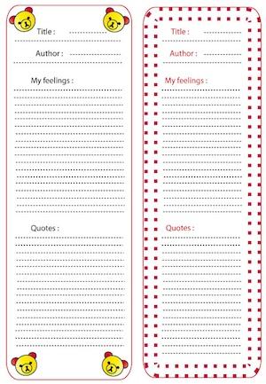 Kutchuk bookmarks