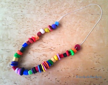 Clay Bead Necklace Things To Make And Do Crafts And Activities