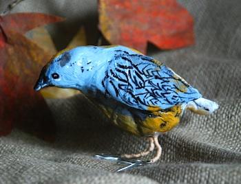 That Artist Woman papier mache bird