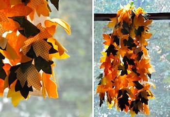 Imagine Childhood leaf cape
