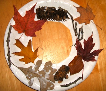 Fun 4 Kids autumn wreath