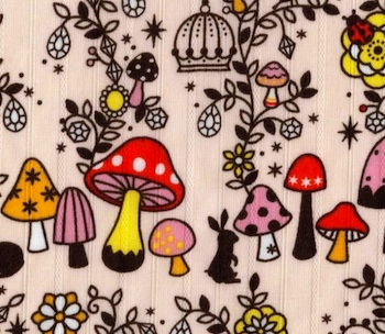 TATFJ mushroom fabric