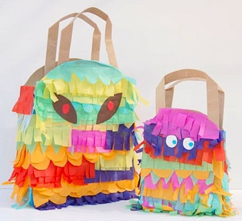 Giddy Giddy monster pinata bags