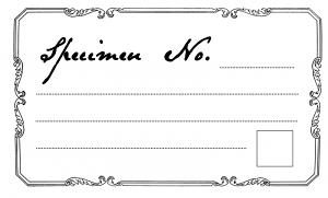 Cheeky Magpie specimen tag printable