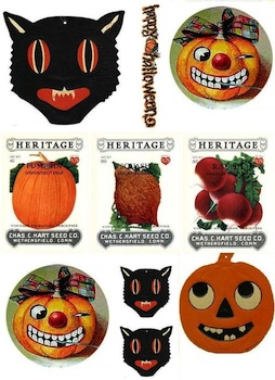 Urban Debris halloween printables