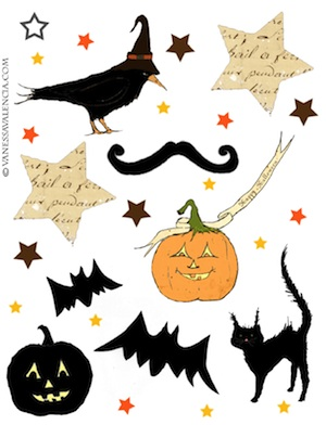 A Fanciful Twist halloween printable