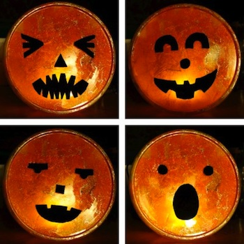 One Inch World glowing play pumpkin