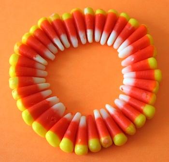 Chica And Jo candy corn bracelet