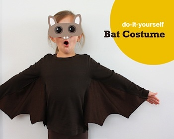 Diy bat costume things to make and do crafts and activities for diy bat costume the long thread bat costume solutioingenieria Choice Image