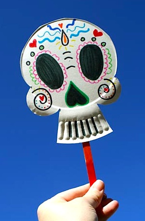 Scrumdilly Do calaveras mask