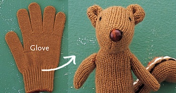 Etsy Blog glove chipmunk