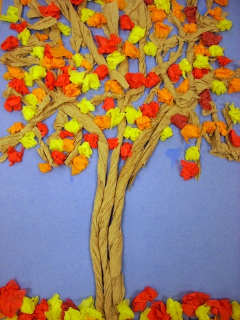 Twisted Fall Tree Craft Things To Make And Do Crafts And