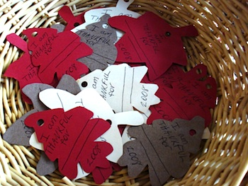 Goose And Binky thankful leaves