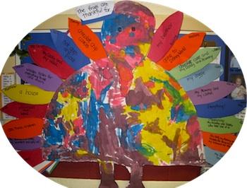 Good + Happy Day thankful turkey