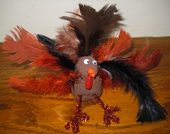 4 Crazy Kings turkey craft