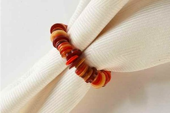 Copycat Crafts button napkin rings