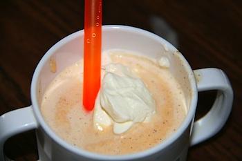 Chasing Cheerios pumpkin pie milkshake