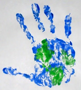 BusyHandsearthdayhandprint
