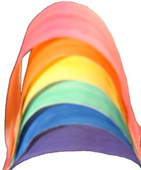 Clean Mama paper strip rainbow