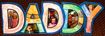 Smart Bottom fathers day card frame