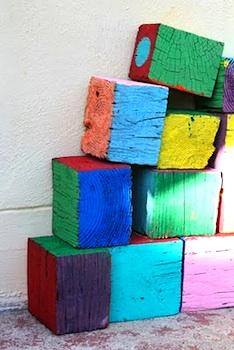 Filth Wizardry giant wood blocks