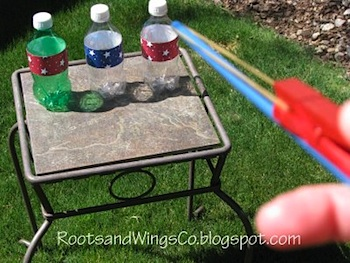 Roots And Wings rubberband shooter