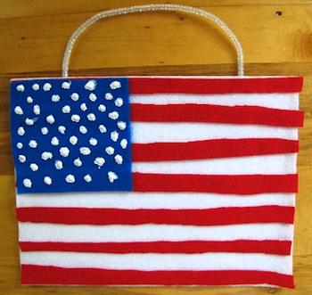 Our Homeschool Fun american flag