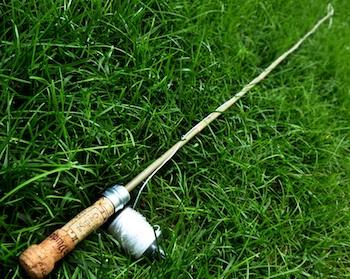 Imagine Childhood fishing rod