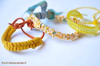 Between The Lines easy braided bracelet