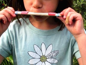 Maya*Made make a harmonica