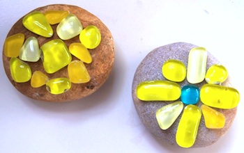 Glittering Shards mosaic stones
