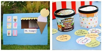 Katherine Marie ice cream theme
