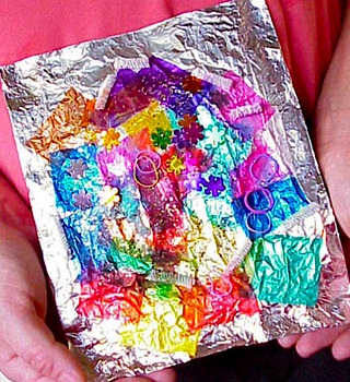 Scrumdilly Do foil collage
