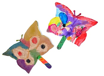 Maya*Made butterfly fans