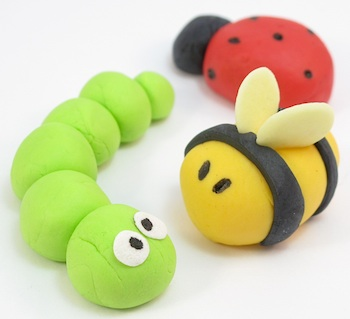 The Decorated Cookie easy fondant bugs