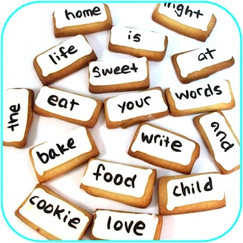 The Decorated Cookie magnetic poetry cookies