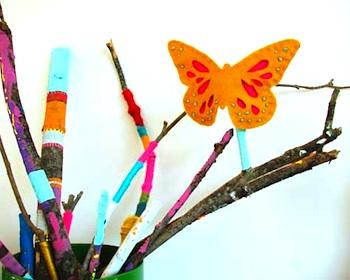 Aesthetic Outburst butterfly finger puppet