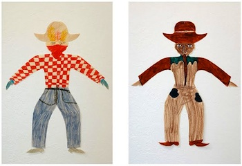 Made By Joel cowboy cut outs