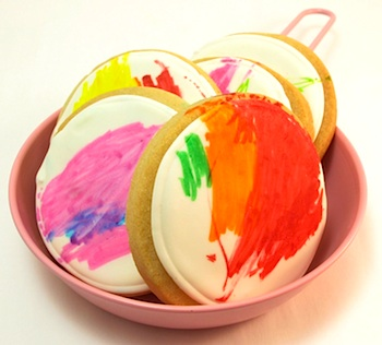 The Decorated Cookie cookies by kids
