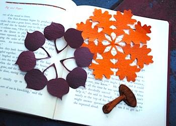 Zakka Life kirigami fall decorations