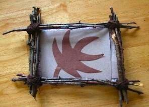 The Crafty Classroom stick frame