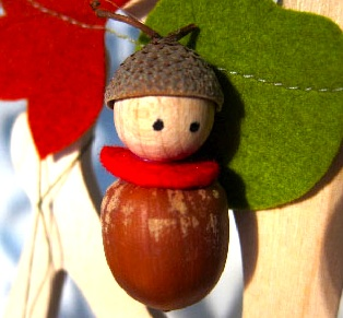 Vlijtig acorn doll