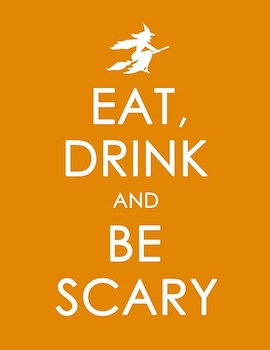 Craftily Ever After eat drink and be scary print