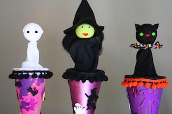Bybido halloween pop-up cone puppet