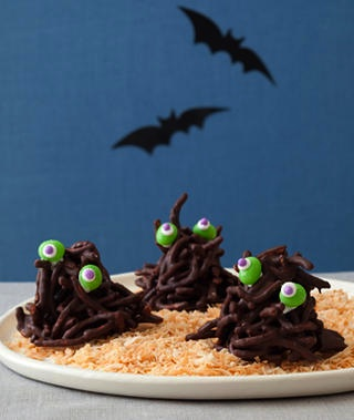 Edible Crafts haystack monsters