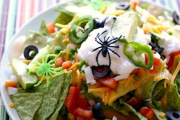 Cheeky Kitchen monster nachos