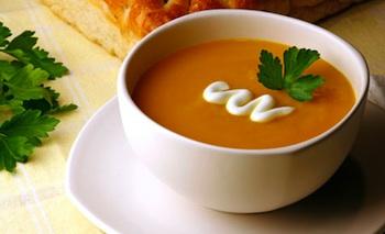 Kidspot Kitchen simple pumpkin soup