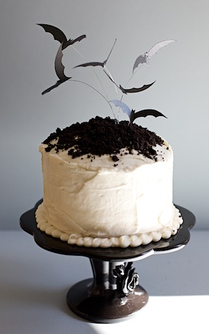 One Charming Party batty cake