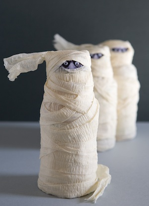 One Charming Party mummy wrapped drink