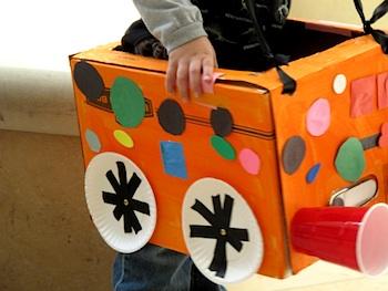 Laugh Paint Create box cars